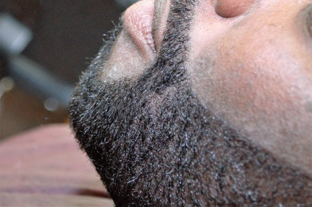 Beard washed using Scotch Porter