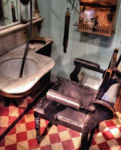 An old school barbershop